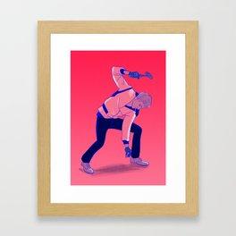 The Driver Framed Art Print