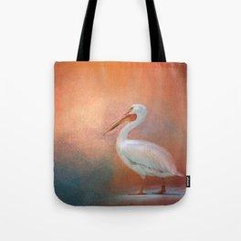 Pelican Walk Tote Bag