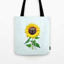 Slothflower Tote Bag