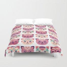 Kittens pattern Duvet Cover