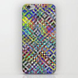 Holy Square Glitch Pattern iPhone Skin