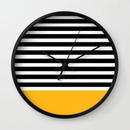 Stripes 101 Wall Clock