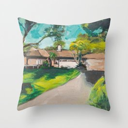 Golden Girls,Each View is an Postcard.... Throw Pillow