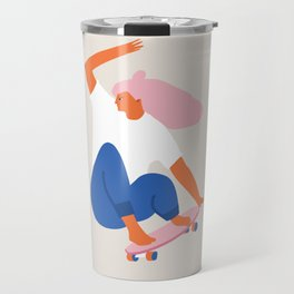 Skateboard girl Travel Mug