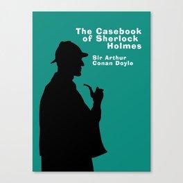 Casebook of Sherlock Holmes Book Cover Canvas Print