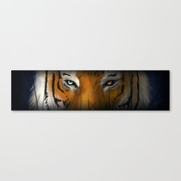 Max Scherzer Tiger, Thin Canvas Print