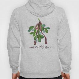 Under  the Mistletoe botanical  Hoody