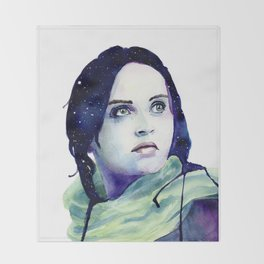 Jyn Erso Throw Blanket
