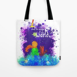 The Little Prince | Quotes | But if you tame me, then we shall need each other. Part 3 of 3 Tote Bag
