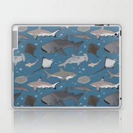 Sharks and Rays Laptop & iPad Skin