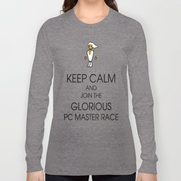 Glorious PC Master Race Long Sleeve T-shirt