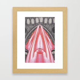 Cathedral of Silk  Framed Art Print
