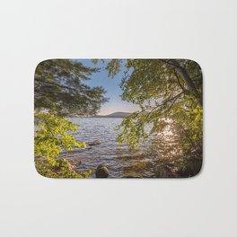 Secret Place By The Lake Bath Mat