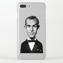 Sean Connery Clear iPhone Case