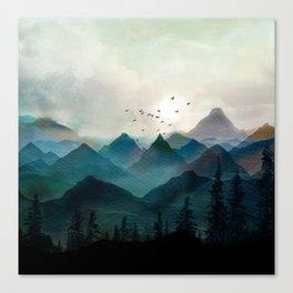 Mountain Sunrise II Canvas Print