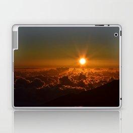 Sunrise At Haleakala Crater Laptop & iPad Skin