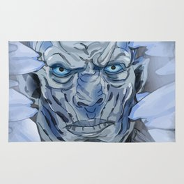Night King of thrones Rug