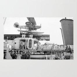 Arrival of the Negus to Haifa 1936 Rug