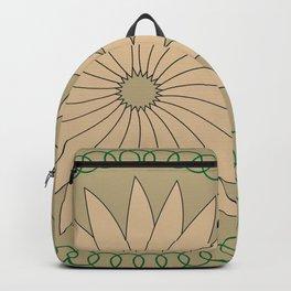 Kiwi inspired Pattern Backpack