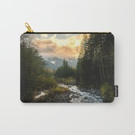 The Sandy River I - nature photography Carry-All Pouch