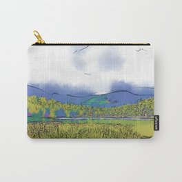 Mountain Meadow Lake Carry-All Pouch