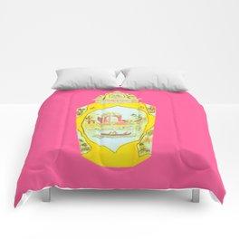 ROYAL WORCESTER PRINT PINK Comforters