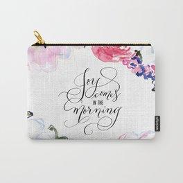 Joy - Psalm 30:5 Carry-All Pouch