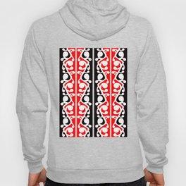 Maori Kowhaiwhai Traditional Pattern Hoody
