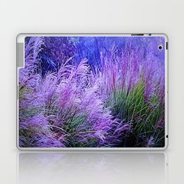 Purple long grass Laptop & iPad Skin