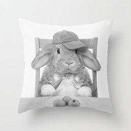 MIKKA BU Throw Pillow