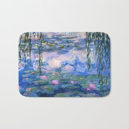 Water Lilies Monet Bath Mat