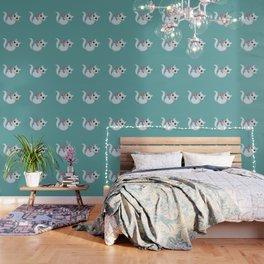 Mischievous kitty Wallpaper