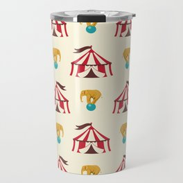 Circus With Performing Elephants Travel Mug