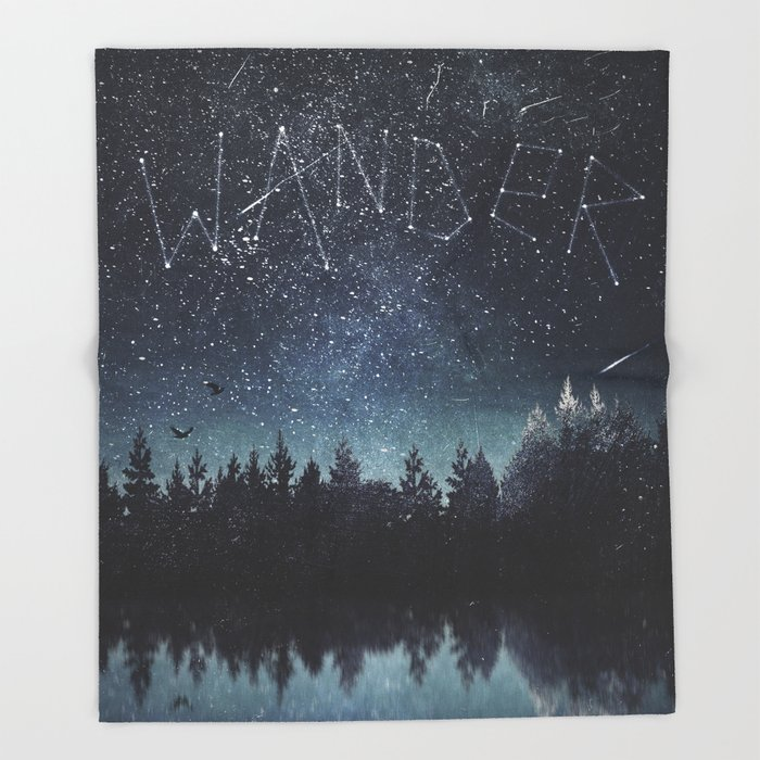 Its written in the stars Throw Blanket