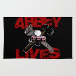 Edward Abbey Lives! Rug