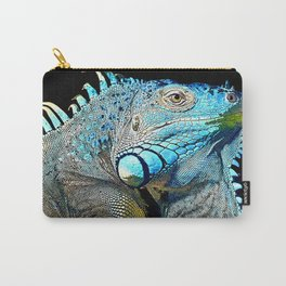 Green Iguana Carry-All Pouch