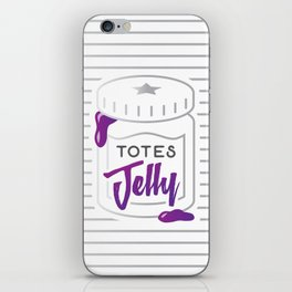 Totes Jelly Jar iPhone Skin