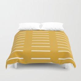 organic / yellow Duvet Cover