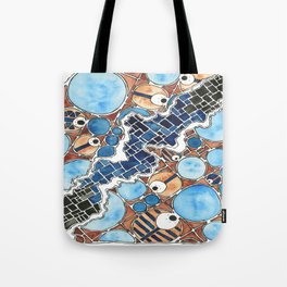 Mountains On the Moon #5 Tote Bag