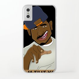 Is That You Dyshawn Poster Clear iPhone Case