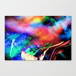 Light Painting #5 Canvas Print