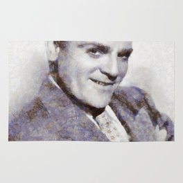 "James ""Jimmy"" Cagney, Actor Rug"