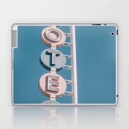 Motel signage Laptop & iPad Skin