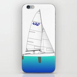470 Olympic Sailing iPhone Skin