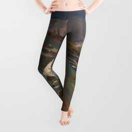 Simplon Pass Oil Painting by  John Singer Sargent Leggings
