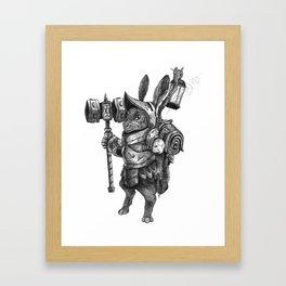 Screwloose Tinkerer Framed Art Print