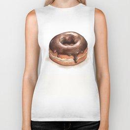 Chocolate Glazed Donut Biker Tank
