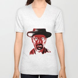»Heisenberg« sees red Unisex V-Neck