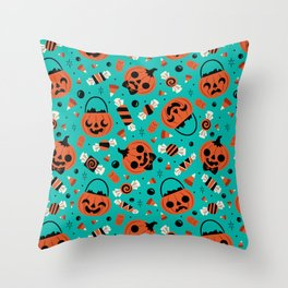 Trick or Treat! Throw Pillow