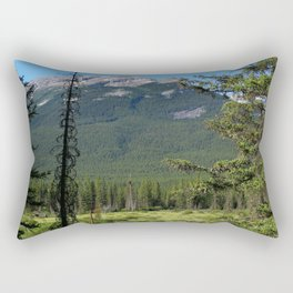 Beautiful Bow Valley Rectangular Pillow